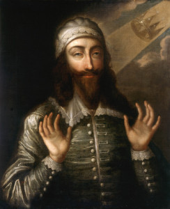 Carles I en una pintura del final del segle XVII (Londres, National Portrait Gallery)