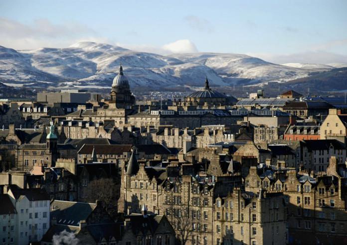 Casc antic d'Edimburg, principal lloc del país on es va gestar la unió dels parlaments