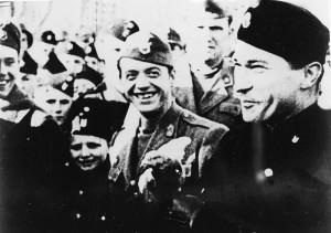 Vjekoslav Luburic va ser un ustaixa partidari del règim nazi de Palevic, un estat satel·lit que croat que exterminà serbis, gitanos i jueus durant la Segona Guerra Mundial