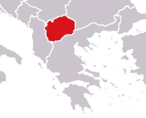 Territori de la República de Macedònia, creada el 1991.