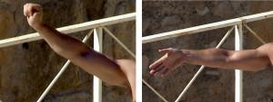 Els gestos utilitzats al circ romà per a demanar el perdó (esquerra) o condemna (dreta) dels gladiadors vençuts.