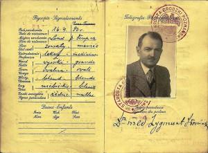 Zygmunt_Sloninski_passport_-_1939