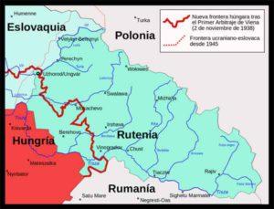 Una nació entre tres estats. Principalment Ucraïna, pe`ro també Eslovàquia i Hongria