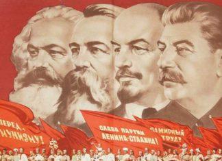 Marx, Engels, Lenin i Stalin, l'evolució russa.