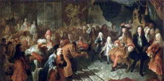 Segona ambaixada persa del 1715. Aquesta vegada sí que van anar a veure els francesos.