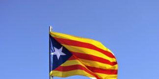 La bandera de la república a Catalunya, o d'independència.