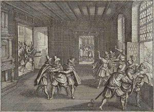 La defenestració de praga per part dels txecs el 1618