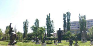 Escultures del Museu d'Art Socialista de Sofia, Bulgària.