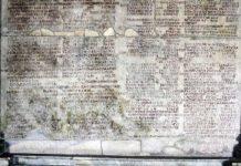 Calendari romà en base als mandats dels cònsuls que era al fòrum. Precisament, una de els raons de Cèsar per canviar aquest sistema va ser la picaresca en l'allargament dels càrrecs per manipulacions del calendari. Foto: Wikimedia Commons
