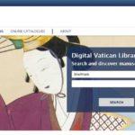 Pàgina principal de la DigiVatLib. C0l·leccionsDigitals. Captura del 20/03/2020