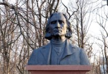 Bust de Franz Liszt, el primer en generar fans i tot un fenomen d'espectacle musical, la lisztomania. font: Pixabay.com