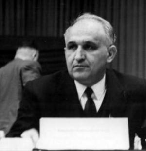 Tòdor Jívkov el 1963, líder fidel d'un país satèl·lit. (font: wikimedia)