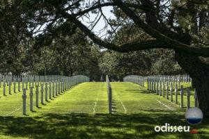 Cementiri nord-americà a Coleville-sur-Mer (Normandía). Autor: Eugeni Junyent